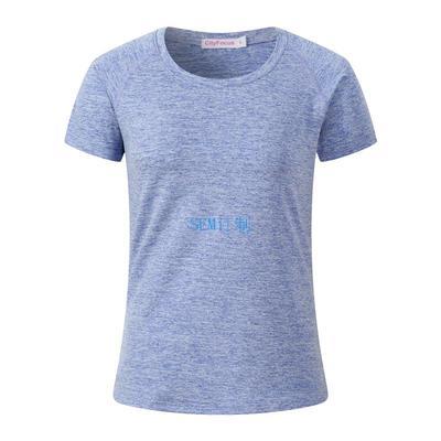 阳离子女式瑜珈服运动短袖T恤